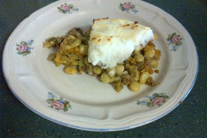 Cajun Shepard's Pie