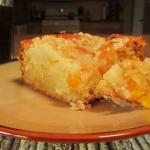 Grandma's Peach Crumb Cake