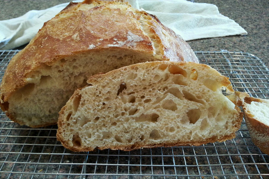 Watch How to Make a Sourdough Starter Without Yeast video