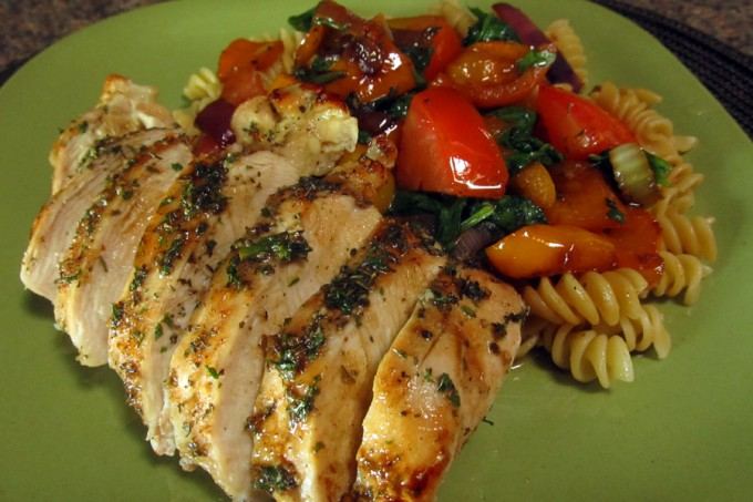 Mediterranean Style Chicken Breasts