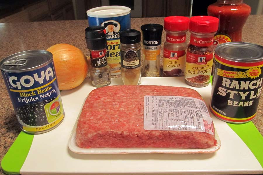 Quick and Tasty Chili Ingredients