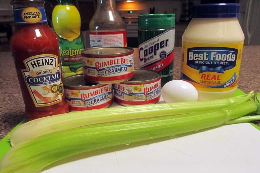 Crab Cakes Louie Ingredients