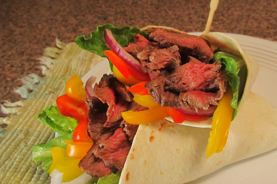 Chimichurri Steak Wrap