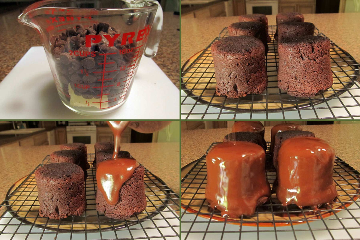 Mini-Flourless-Chocolate-Cake-Glaze