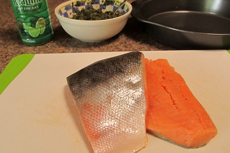 Kokanee Salmon Filets