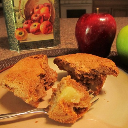 Old Fashioned Apple Cake - in Muffin Tins