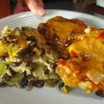 Fiesta Pork Chop and Rice Casserole