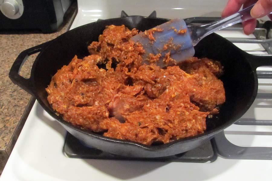 Homemade Chorizo Sausage