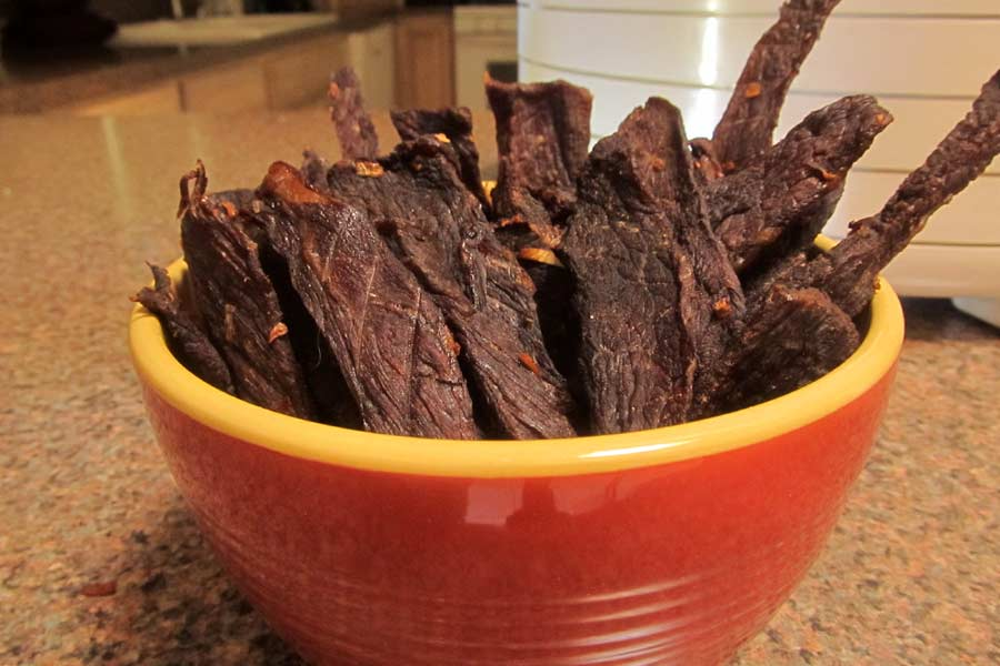 Teriyaki Beef Jerky - Dang Good Cookin'